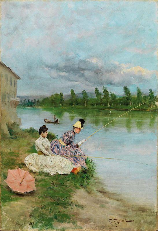 fabio fabbi - pescatrici sull'Arno
