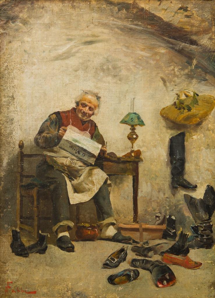 Fabio Fabbi, Il calzolaio